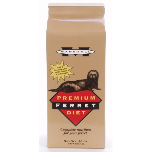 Marshall Premium Ferret Diet / Size (26 oz.) Best Price