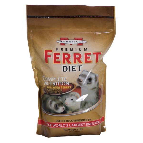 Marshall Premium Ferret Diet / Size (4 lbs.) Best Price