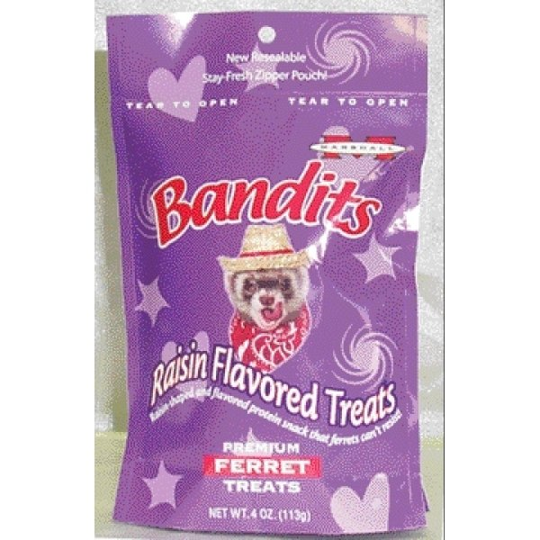 Bandits Ferret Treats / Flavor Raisin
