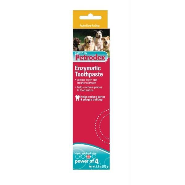 Petrodex Enzymatic Pet Toothpaste / Type Poultry 6.2 Oz