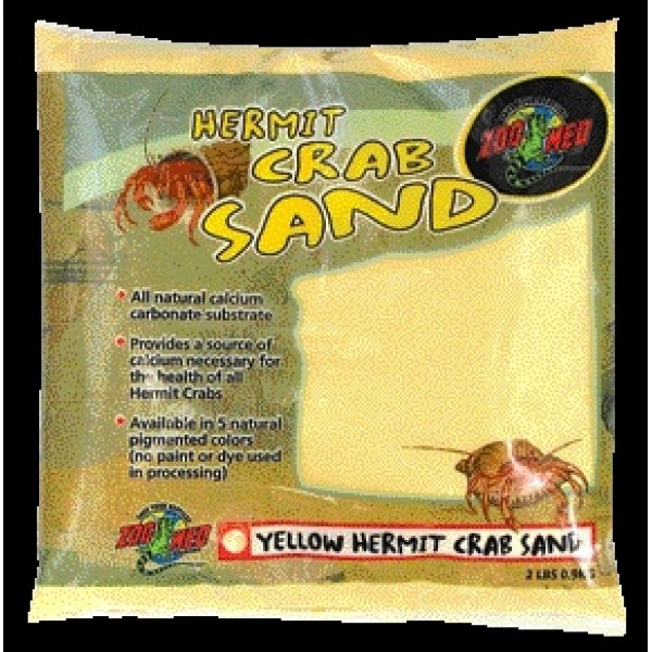 Hermit Crab Sand / Color (Yellow) Best Price