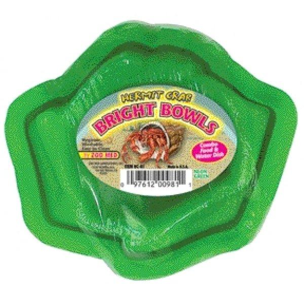 Hermit Crab Bright Bowls / Color Green