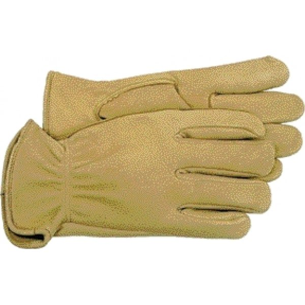 Unlined Leather Glove for Men  / Size (L) Best Price