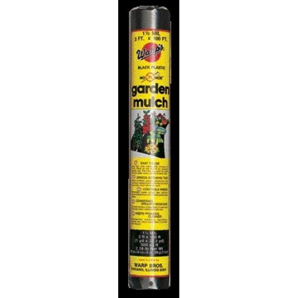 No-Hoe Garden Mulch  / Size (3' x 100') Best Price