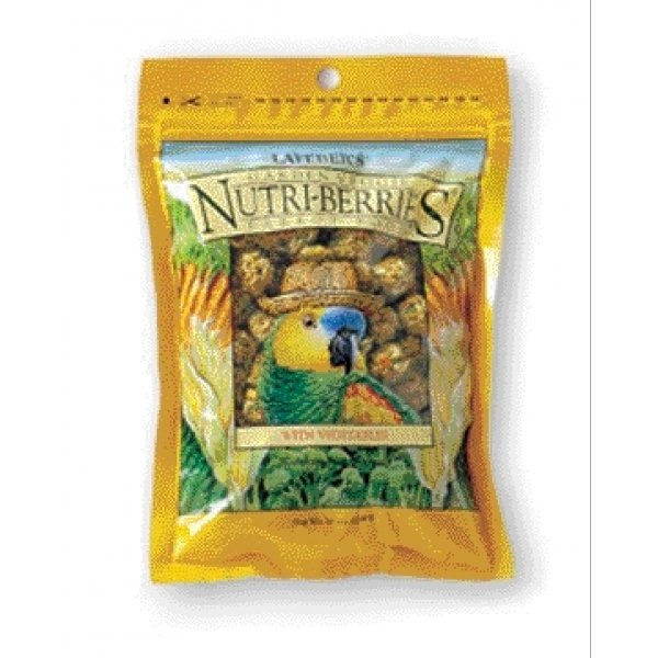 Garden Veggie Nutri Berries For Parrots / Size 10 Oz.