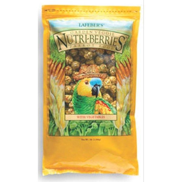 Garden Veggie Nutri Berries For Parrots / Size 3 Lb