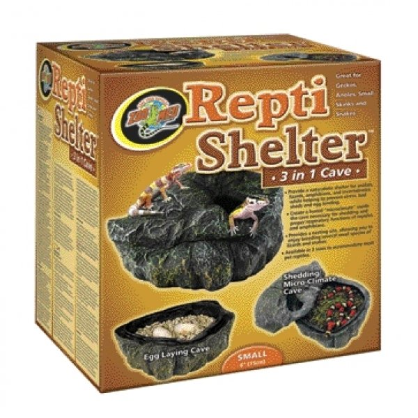 Repti Shelter 3 in 1 Cave / Size (Small) Best Price