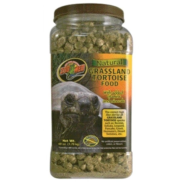 Natural Grassland Tortoise Food / Size 60 Oz