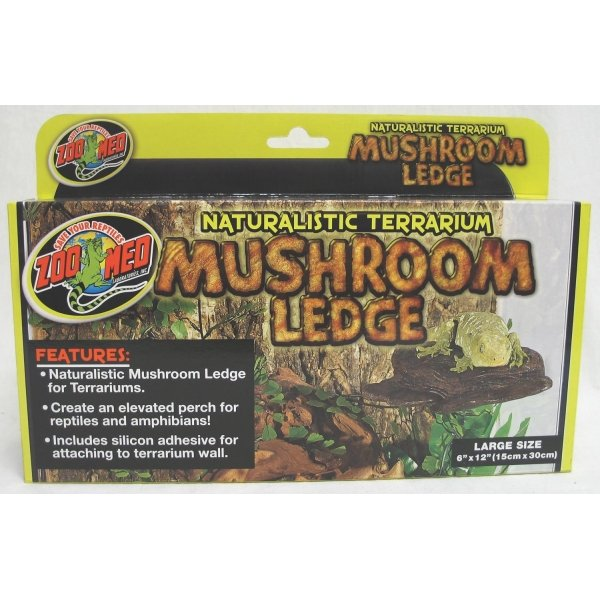 Reptile Mushroom Ledge / Size (Large) Best Price