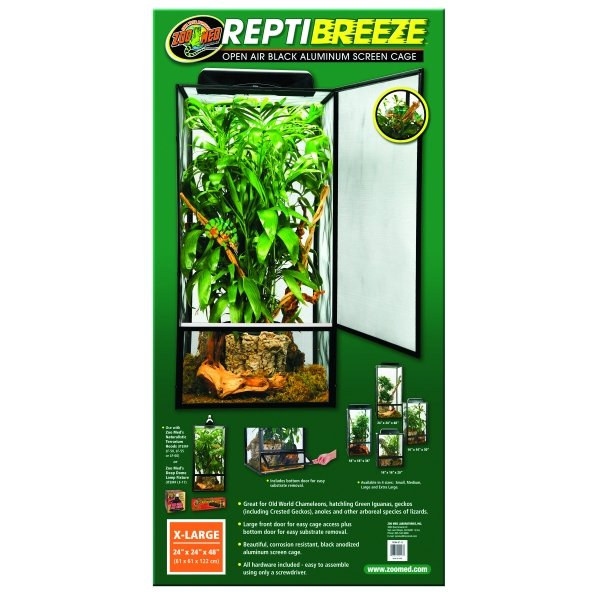Reptibreeze Open Air Screen Cage / Size (XLarge)