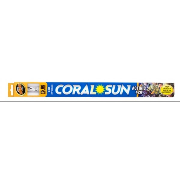 Coral Sun Actinic 420 T5-HO / Size (22 in.) Best Price
