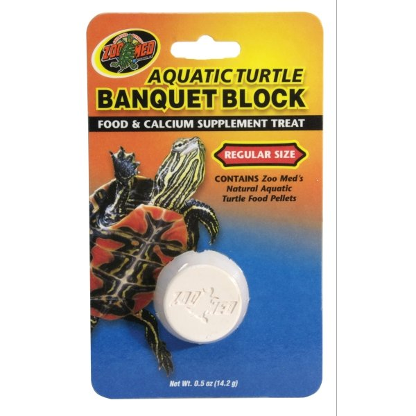 Aquatic Turtle Banquet Block / Size (Regular) Best Price