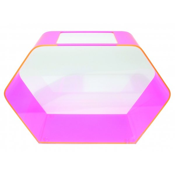 Hexagon Betta House / Color (Hot Pink)