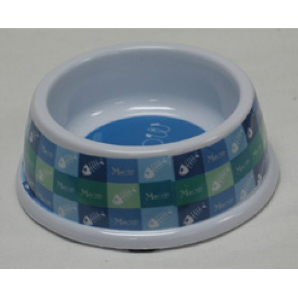 No-tip Pet Melamine Dish / Size (Cat / Blue 5 in) Best Price