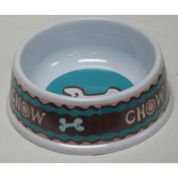 Chow No-Tip Melamine Dog Bowl / Size (6 in.)