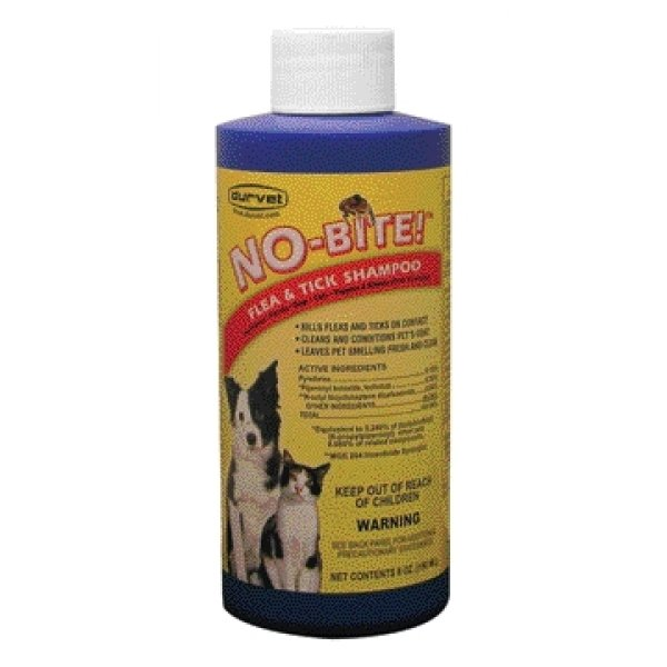 No Bite Pet Flea And Tick Shampoo / Size 6 Oz.