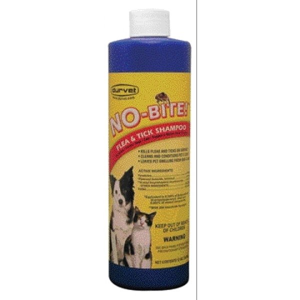 No-Bite Pet Flea and Tick Shampoo / Size (12 oz.)