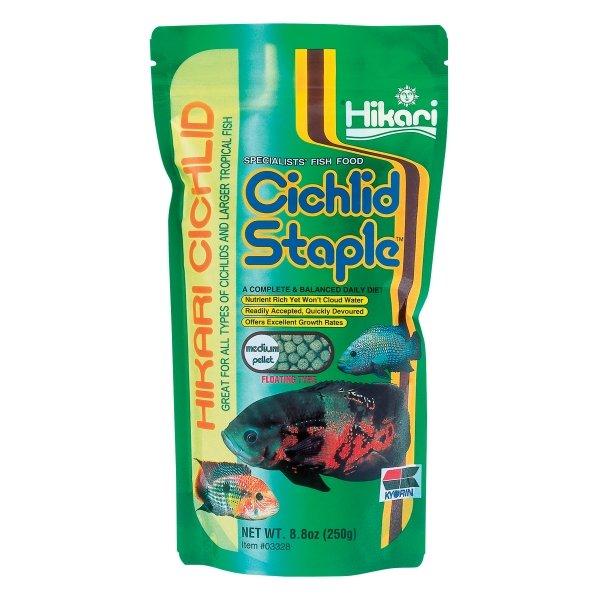 Cichlid Staple By Hikari / Size 8.8 Oz/medium Pellet