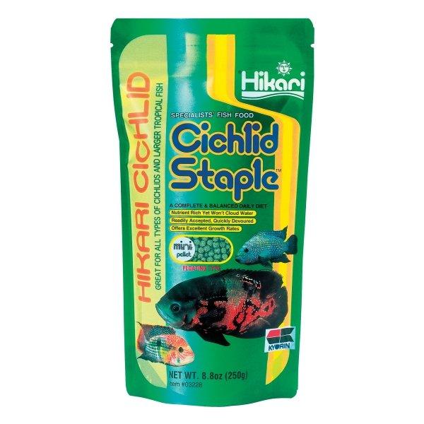 Cichlid Staple By Hikari / Size 8.8 Oz/mini Pellet