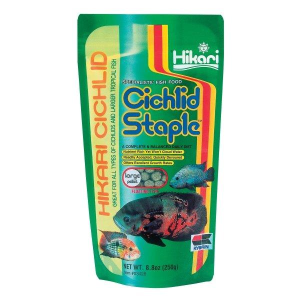 Cichlid Staple By Hikari / Size 8.8 Oz/large Pellet