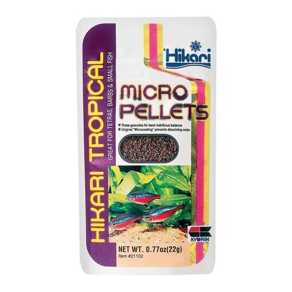 Micro Fish Pellets By Hikari / Size 0.77 Oz