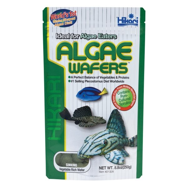 Algae Wafers By Hikari / Size 8.80 Oz