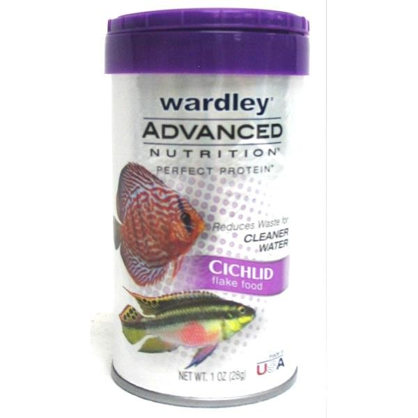 Adv. Nutrition Cichlid Food / Size (1 oz Flakes) Best Price
