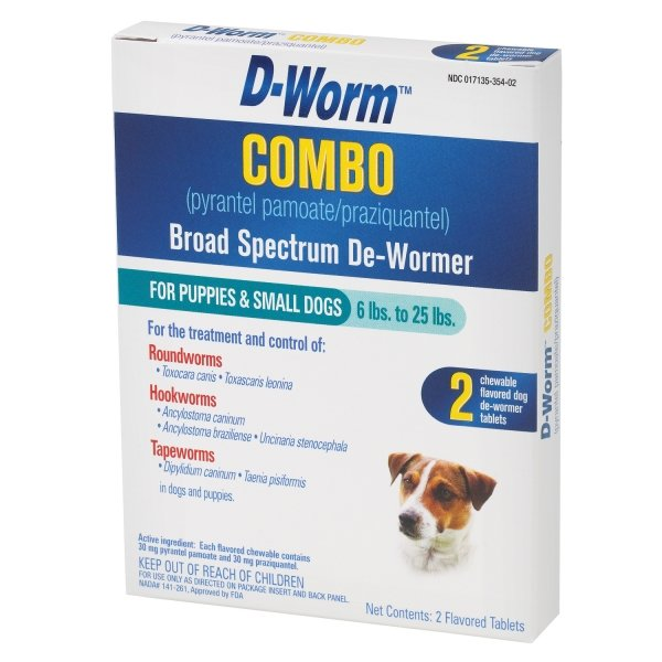 D Worm Combo / Size Under 25 Lbs / 2 Pack