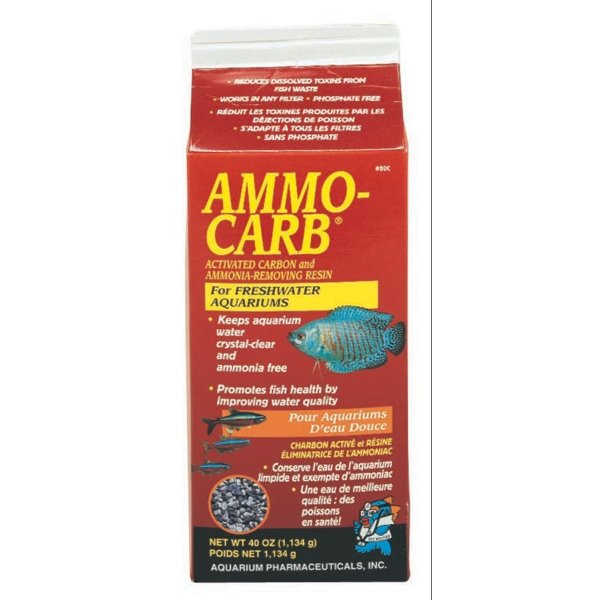 Ammo Carb For Aquariums / Size 37 Oz.