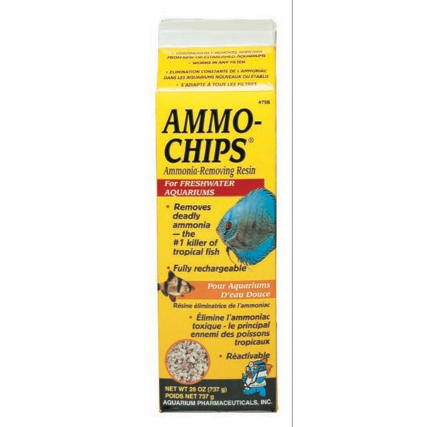 Ammo Chips Ammonia Remover / Size 26 Oz.