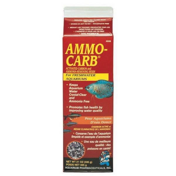 Ammo Carb For Aquariums / Size 9 Oz.