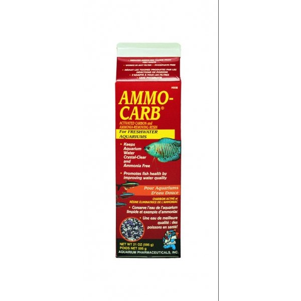 Ammo Carb For Aquariums / Size 18 Oz.