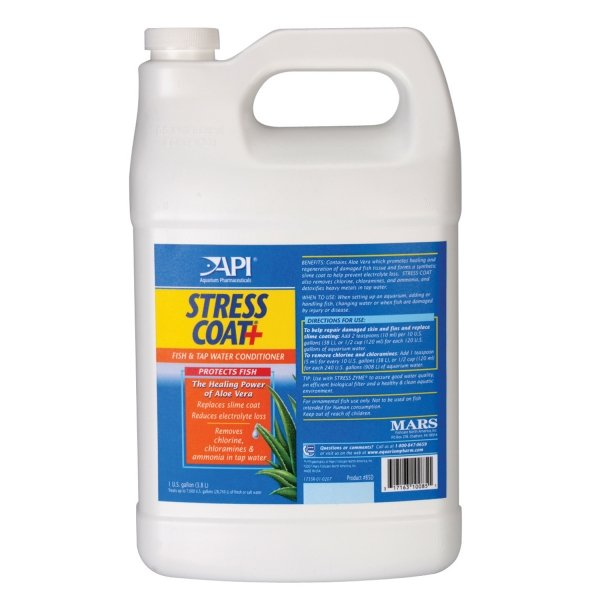 Stress Coat Fish Protection Formula / Size 1 Gallon