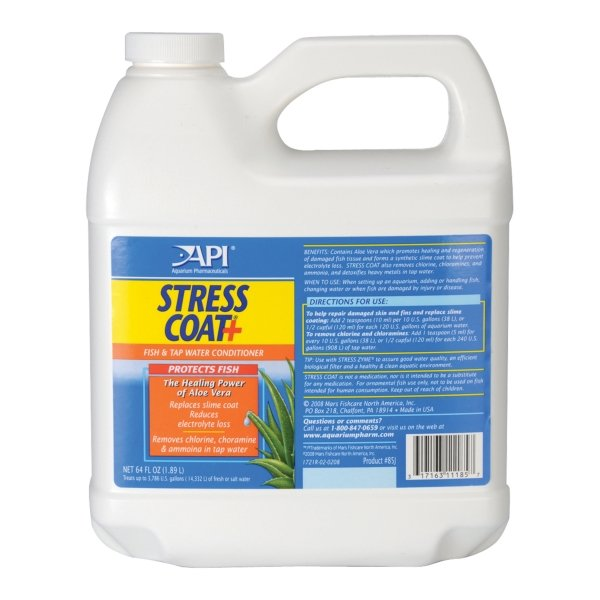 Stress Coat Fish Protection Formula / Size 64 Oz.