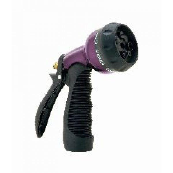 Adjustable 7 Pattern Hose Nozzle Aqua Gun / Color (Purple) Best Price