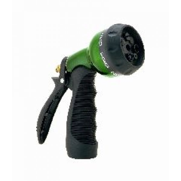 Adjustable 7 Pattern Hose Nozzle Aqua Gun / Color (Green) Best Price