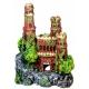 Medieval Castle Aquarium Ornament (8x5x11)