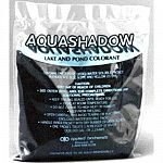 Aquashadow is a blended formulation of water soluble dyes designed for use in smaller lakes, ponds, decorative water features and other impounded bodies of water with limited outflow. 4 packet box (each packet is 7.15 oz)
