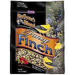 Use Fancy Finch food to attract a variety of finches to your yard. These beautiful birds will love to eat this tasty blend of cranberries and seeds. Provides wild birds with great nutrition and lots of energy.