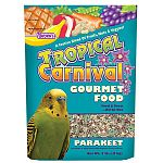 Tropical Carnival Gourmet Parakeet Food is a blend of nutritionally fortifed of parakeet food that contains the best ingredients. Helps to provide a healthy parakeet diet and aids in proper digestion. Delicious and nutritious, your parakeet will enjoy thi