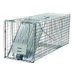 This Havahart live animal trap is our best selling trap for general purpose use. This Havahart trap is designed for catching armadillos, raccoons, feral (stray) cats, woodchucks (groundhogs) & other similar size animals.
