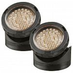 Laguna Power Glo Submersible Pond Lights 40-LED are perfect for adding character to your pond or water feature. Highlight plants, rock or any interesting object. Lights make a great finishing touch and may be used in or out of the water.