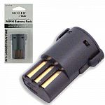 Replacement rechargeable battery for ARCO (Moser) clipper. Nimh technology allows recharging at any time. Features an environmentally friendly nickel-metal hydride battery with 30% longer run time