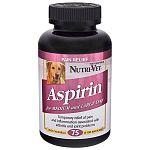K9 Aspirin for Small and Large Dogs has a tasty liver flavor that your dog will love. Made to be chewable, this tablets help relieve pain and inflammation. Liver flavor. For small dogs, use 120 mg. (100 tablets per bottle.) For large dogs, use 300 mg.