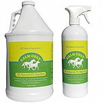 Fly Repellent Equine is an ALL-NATURAL water-based equine formula using a unique combination of citronella, eucalyptus and other botanicals without the use of harsh chemicals or pesticides.