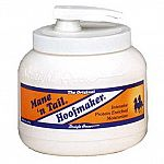 The Original Mane 'n Tail Hoofmaker is an exclusive protein enriched formula developed to maintain strong yet flexible hooves. Deep moisturizing formula helps reduce dry and brittle hooves. Contains no petroleum or pine tar