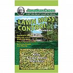 Controls moss conditions in lawns and uses a small particle size for improved performance. Kills lawn moss quickly, see results in hours. Turns lawn a deep-green. Contains iron sulfate, with a higher percentage of active ingredient for superior control.