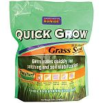 Fast germination for quick cover. Grows fast- great for temporary repairs.