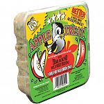 Your backyard birds will love this tasty year round apple treat by C and S. Specially formulated to provide wild birds with much needed energy and creates less waste and mess then other suet cakes. Contains real apple dices.