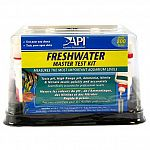 This complete aquarium kit tests for five different water conditions in your freshwater aquarium. Accurate test solutions for ph, high range ph, ammonia, nitrite, gh and KH - all of which are important to the health of your fish.